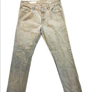 Men's Gray Gap 1969 Jeans